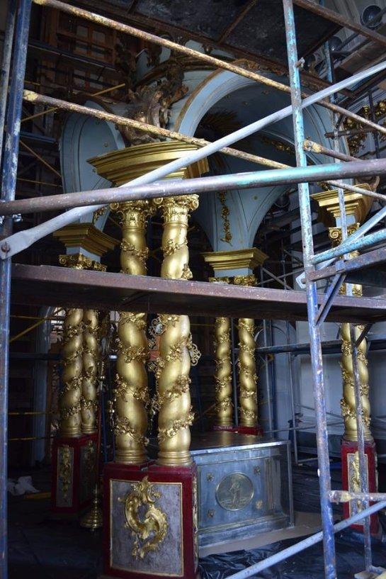 В Киеве восстанавливают главные святыни: Андреевский собор и Софию