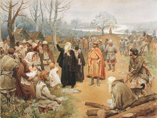 Следы язычества в христианской вере