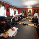 У Києво-Печерській Лаврі розпочалося засідання Священного Синоду УПЦ (МП)