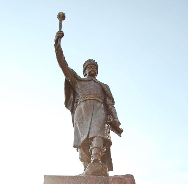 На Харківщині урочисто відкрили і освятили пам'ятник гетьману Івану Мазепі