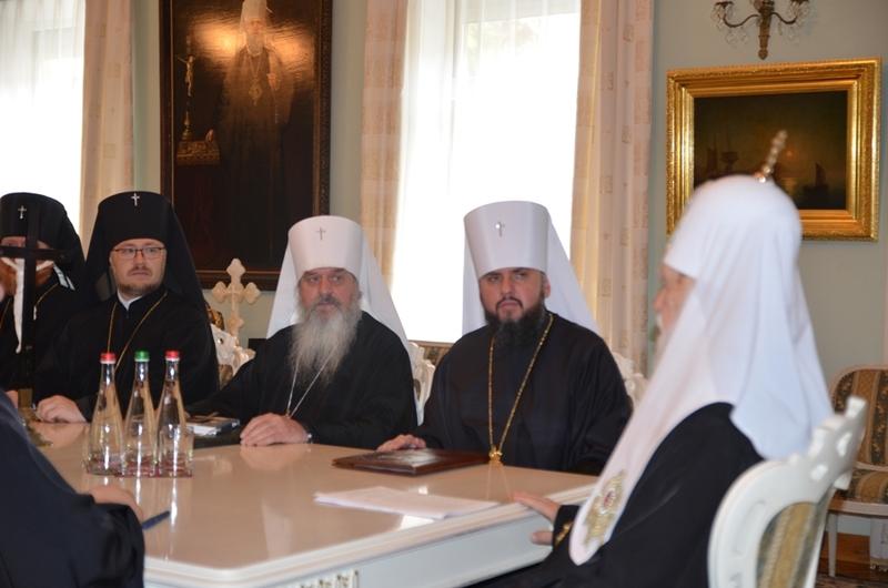 УПЦ КП звітувала про переговори з Константинополем щодо автокефалії