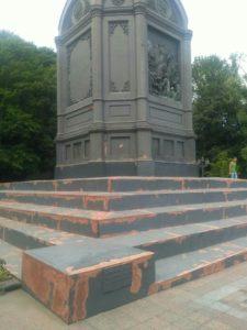 У Києві почали реставрувати пам'ятник святому князю Володимиру Великому