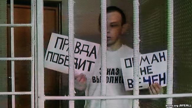 Фігурант севастопольської «справи Хізб ут-Тахрір» у залі суду оголосив безстрокове голодування