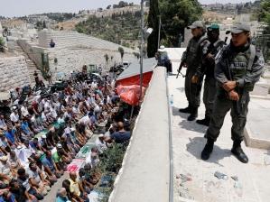 Ізраїльська поліція обмежила доступ мусульман-чоловіків на Храмову гору в Єрусалимі