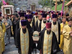 У Київ прибудуть 11 чудотворних ікон