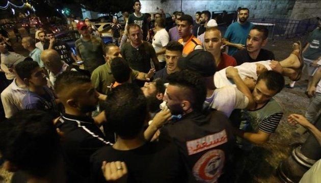 В Єрусалимі внаслідок силового розгону біля мечеті до лікарні доставили імама
