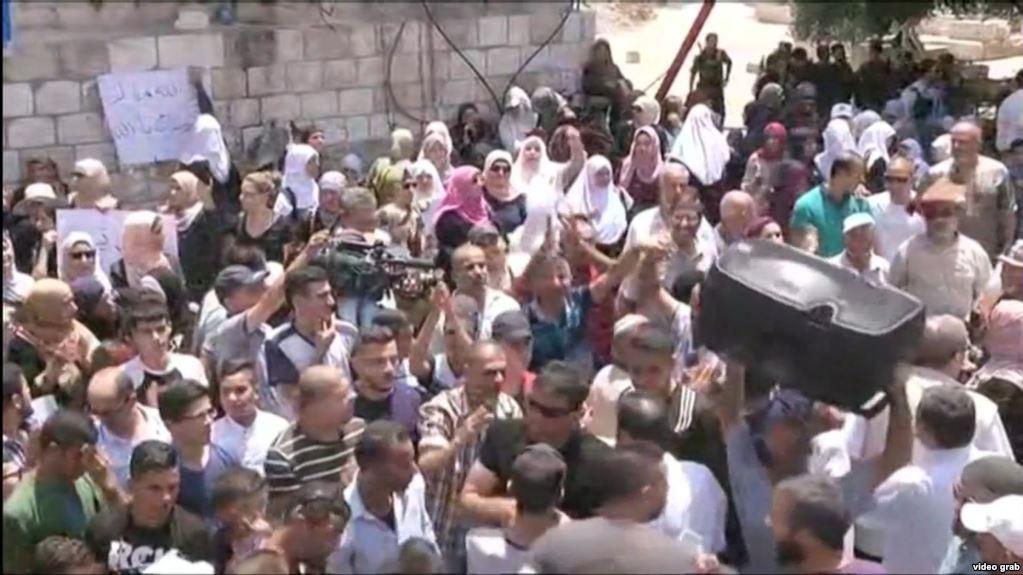 В Єрусалимі знову сутички між палестинцями та ізраїльськими силами безпеки