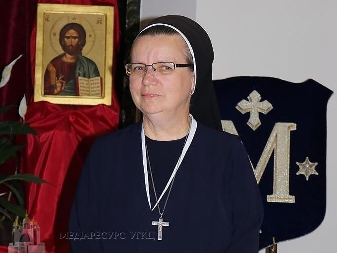 Згромадження сестер служебниць Непорочної Діви Марії отримало нова Генеральну настоятельку
