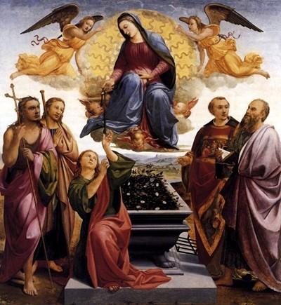 Празник Внебовзяття Діви Марії 15 серпня відзначає Церква латинського обряду