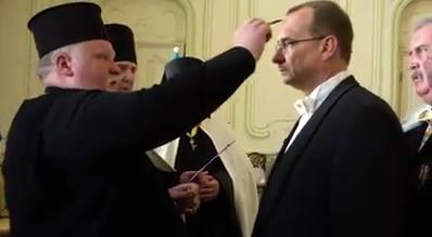 Єпископ УАПЦ взяв участь у церемонії Лицарського ордену в Чехії