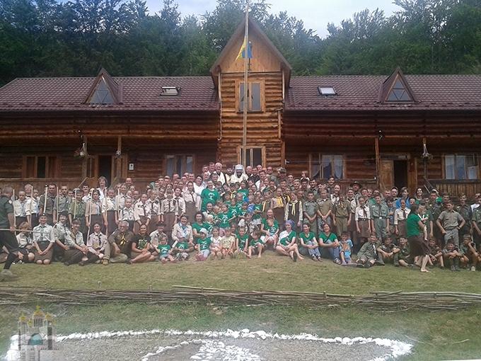 Глава УГКЦ відвідав скаутський табір і закликав молодь и церкву