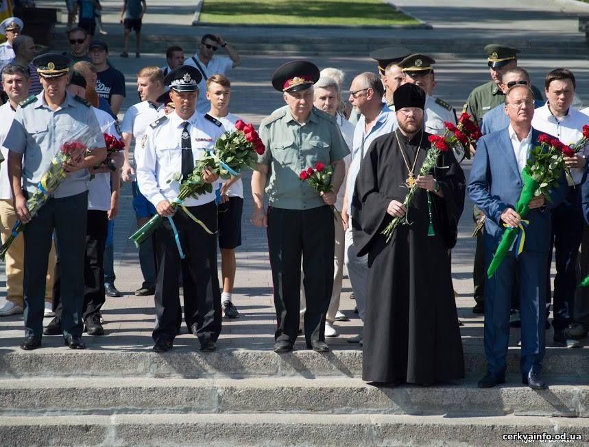 УПЦ КП долучилася до свята 76-ої річниці героїчної оборони Одеси