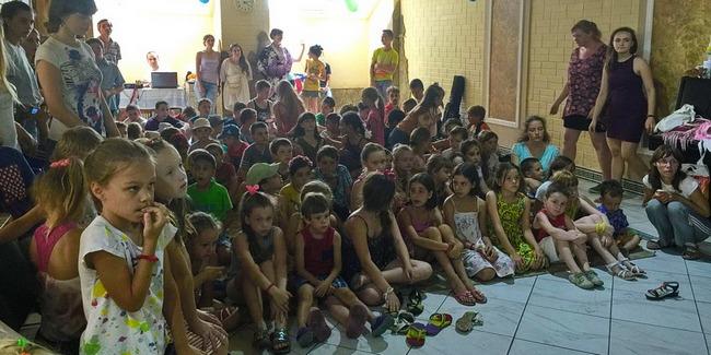 Адвентисты провели каникулярную школу в Харькове
