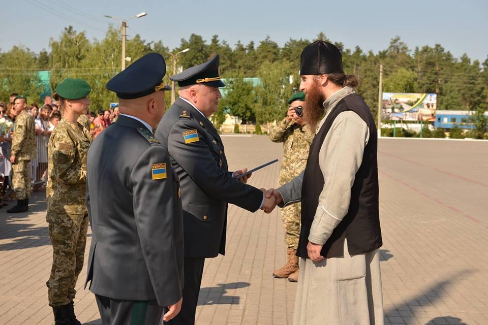 Священика УПЦ нагороджено відзнакою Президента України за окормлення військових у зоні бойових дій