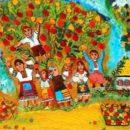 У столиці відбудуться лекція-екскурсія «Намалювати український рай» та майстер-клас з розпису на склі «З янголом у човні»