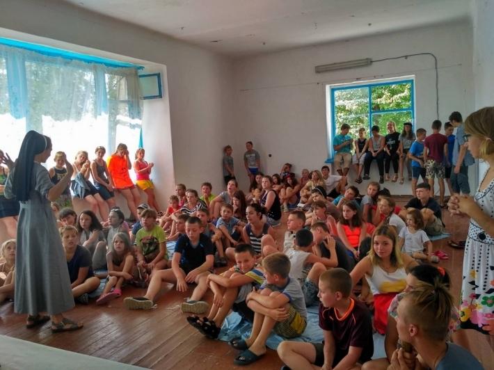 Черниці УГКЦ провели християнський табір для дітей із зони АТО