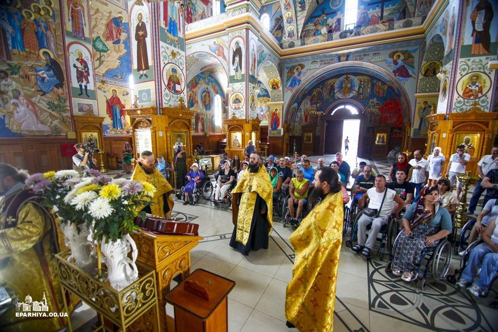 Дві єпархії УПЦ провели щорічні оздоровчі та паломницькі заходи для інвалідів