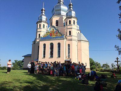 УАПЦ влаштувала відпочинок дітей з Донбасу на Львівщині