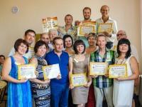 Протестанты Днепра получили дипломы государственного образца с правом делать массаж по методике «Массаж-молитва-исцеление»