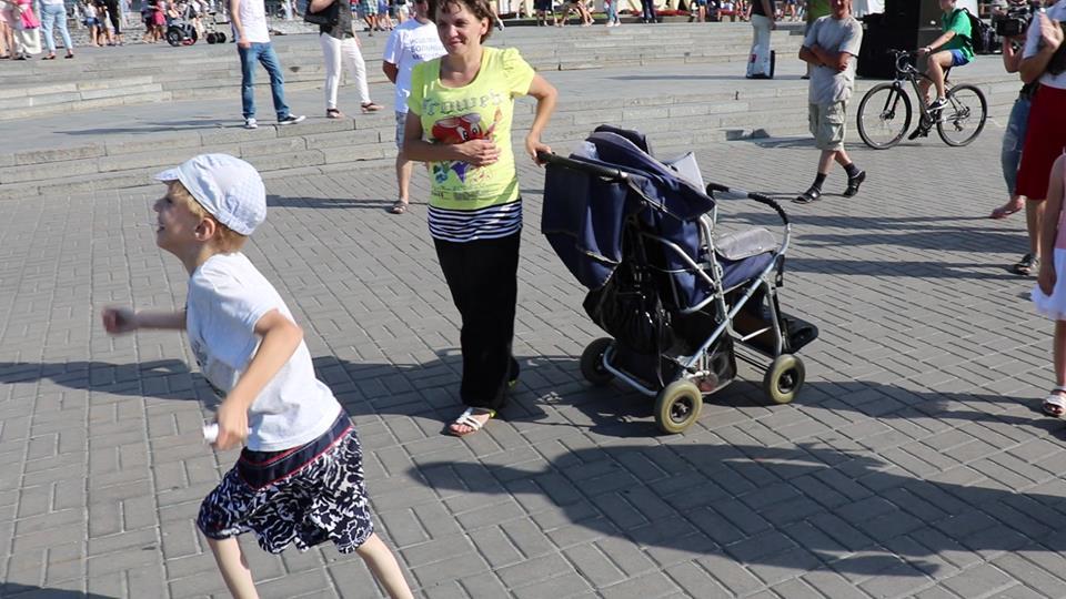 Мальчик получил исцеление во время евангелизации в Киеве