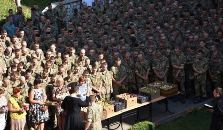УГКЦ святкувала Преображення в Національній академії сухопутних військ