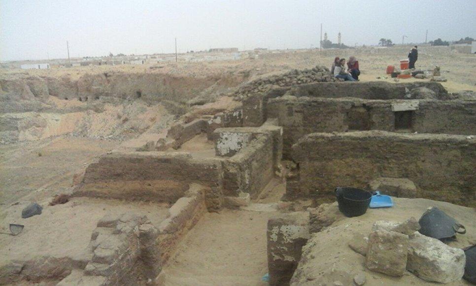 Велике чернече місто V століття виявлено в Єгипті