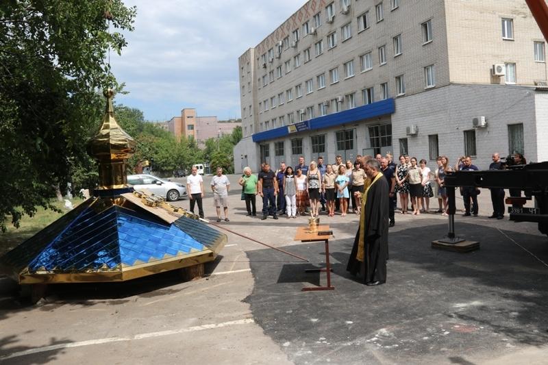 УПЦ КП споруджує каплицю на території центральної міської пожежної частини Дніпра