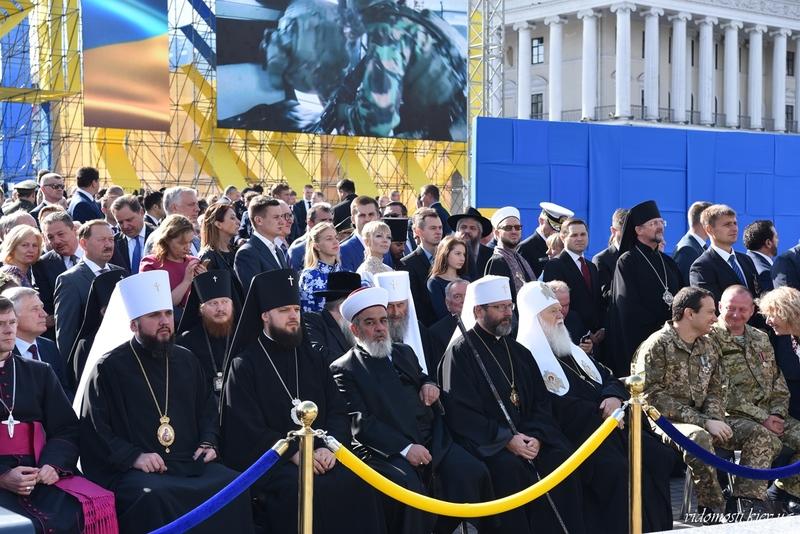 Ієрархи церков взяли участь в урочистих заходах з нагоди Дня незалежності України