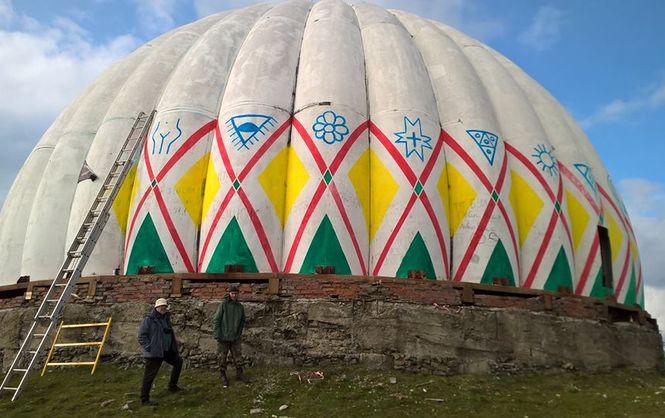 На Буковине купола заброшенной радиолокационной станции превратят в гигантские