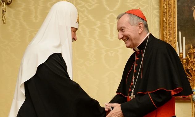 Патріарх Кирил розповів Держсекретарю Ватикану, якою має бути Церква в Україні