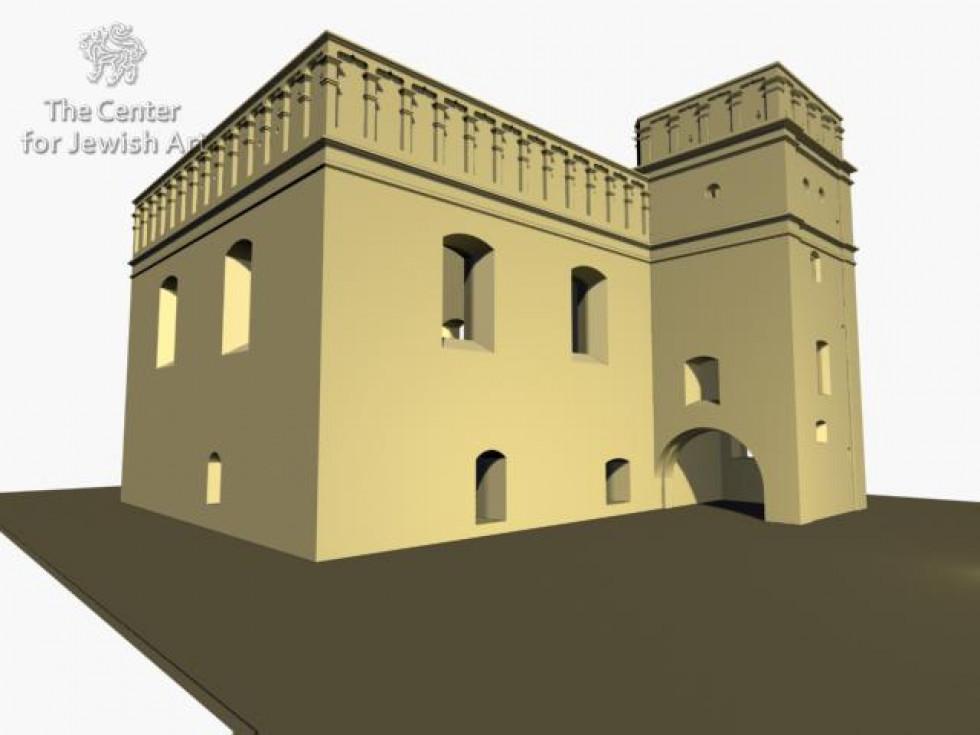 У Єрусалимі створили 3D модель луцької синагоги