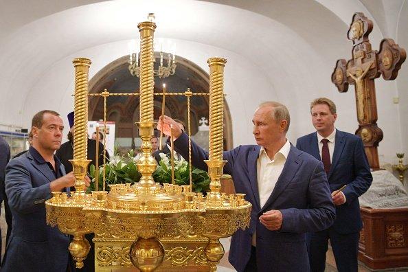 Путін заявив, що хоче зробити з Херсонеса «російську Мекку»
