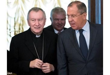 Український аспект візиту кардинала П'єтро Пароліна до Росії