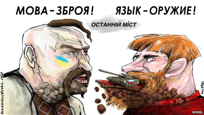 УПЦ (МП), мова та зброя США. Українці повинні самі позбутися «русского мира»