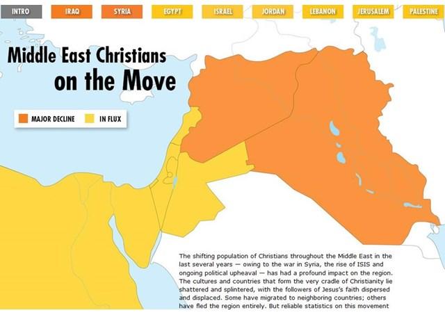 У Ватикані порахували скільки християн на Близькому Сході