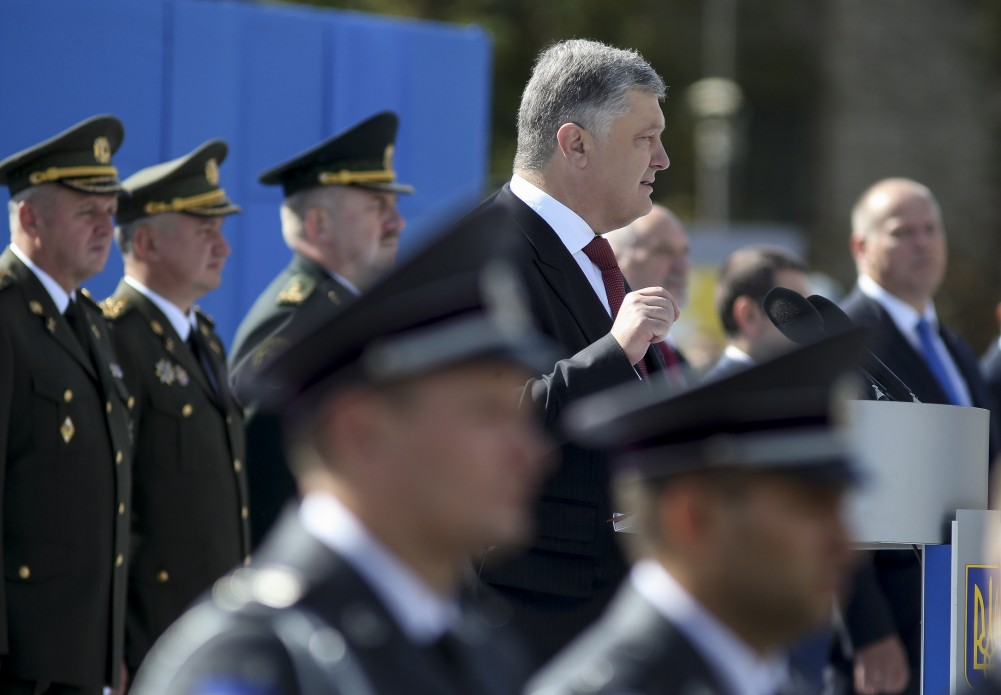 Порошенко у промові на Параді військ цитував Блаженнішого Любомир (Гузара)
