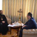 Глава УГКЦ з міністром В. Чернишом обговорили спільну допомогу потребуючим на тимчасово окупованих територіях