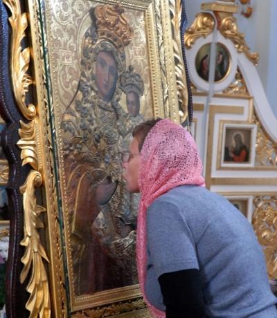 Копію Галицької чудотворної ікони матері Божої передали храму в Дніпрі