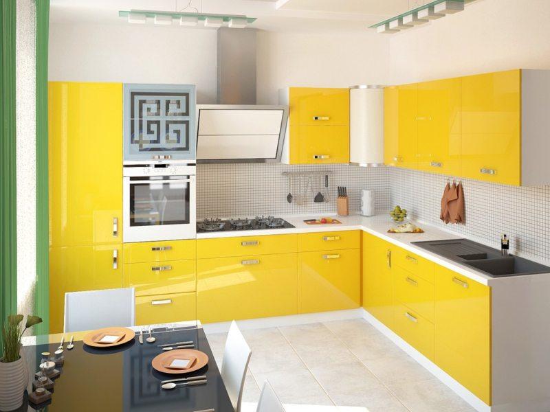Угловые кухни: индивидуальное производство мебели под заказ