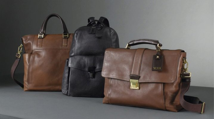 Мужские кожаные сумки – удобство и стиль