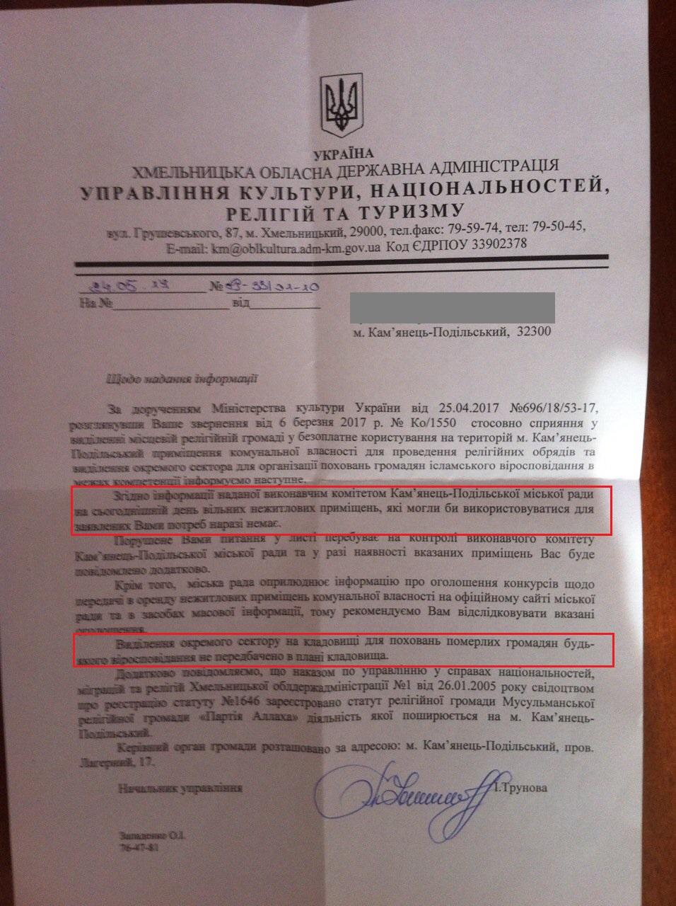 Кримські татари у Кам'янець-Подільську виборюють приміщення для молитовного дому та територію під захоронення