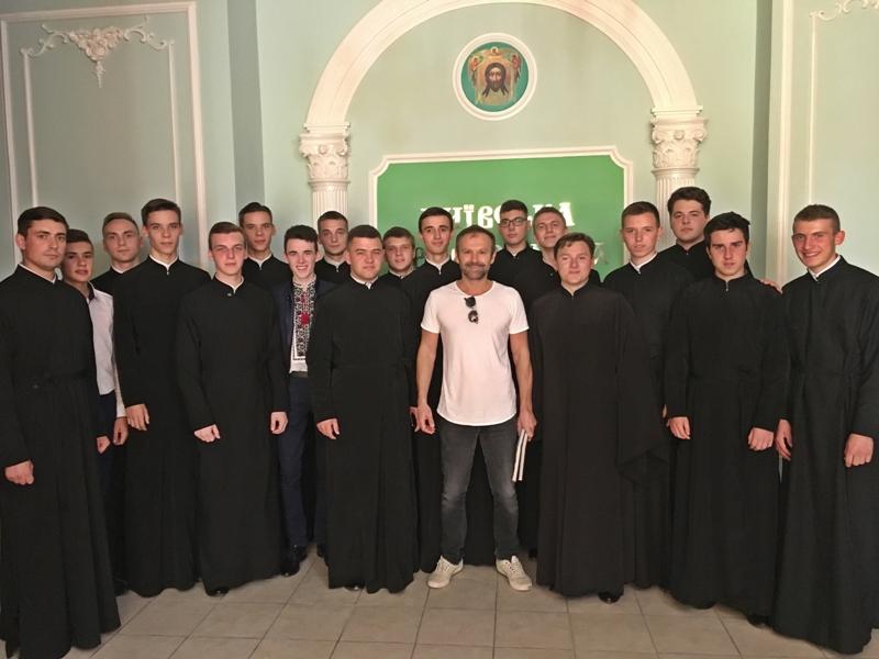Майбутні священики УПЦ КП зустрілися зі Святославом Вакарчуком