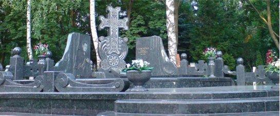 Надгробия и похоронная атрибутика из гранита