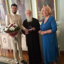 Патріарха Філарета нагородили вищою миротворчою відзнакою Українського Посольства Миру