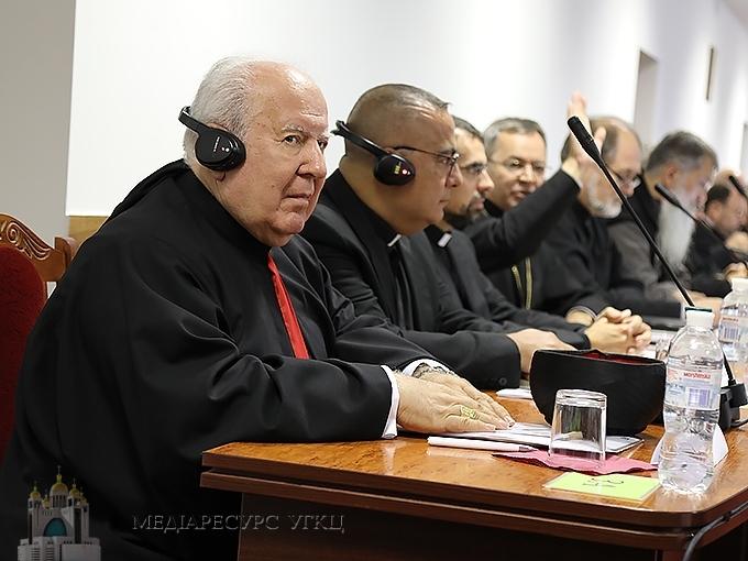 На Синоді УГКЦ слухали про досвід літургійної реформи в Маронітській Церкві