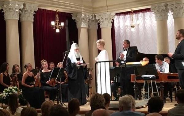 Патріарх Філарет нагородив орденом російську співачку Марію Максакову