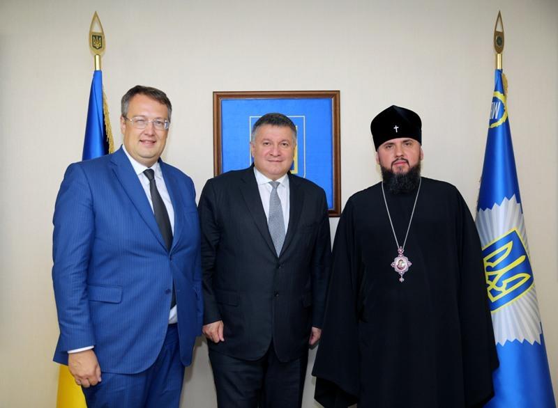 Митрополит УПЦ КП та міністр внутрішніх справ обговорили утвердження інституту капеланства
