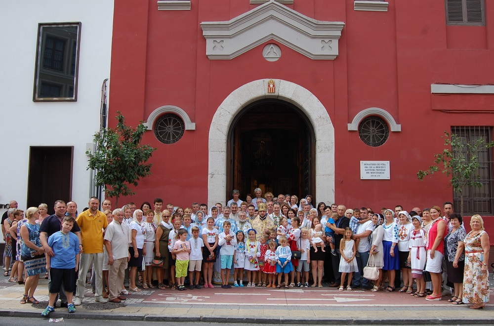 Митрополит УПЦ КП і консул України відвідали українців діаспори в Іспанії, а митрополит УПЦ (МП) провів зустріч з послом Сербії
