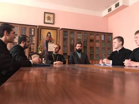 В УПЦ КП відбулося засідання наукового студентського товариства ім. митрополита Даниїла (Чокалюка)