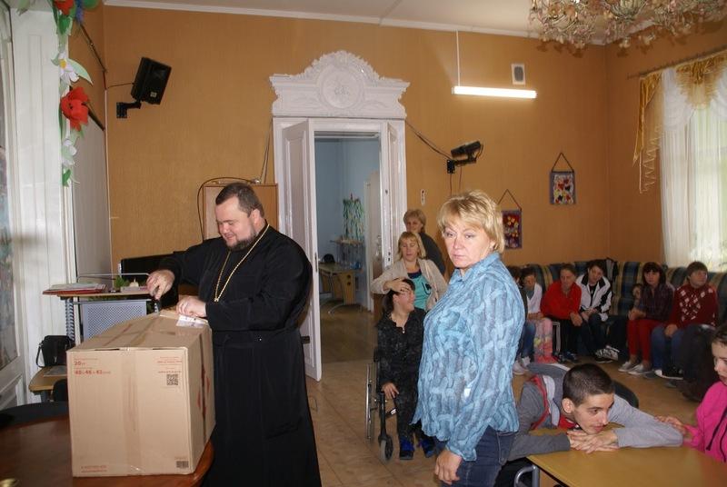 Єпархія УПЦ КП передала тренажери для Обласного центру соціально-психологічної реабілітації дітей та молоді